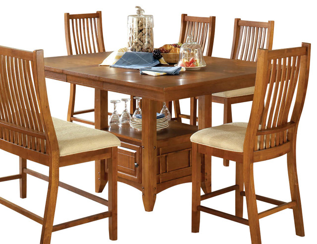 Tulsa Counter Table With 16in Butterfly Leaf Contemporary Dining Tables By Modern