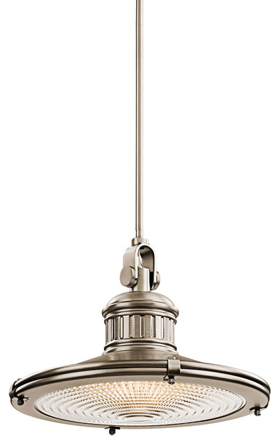 Kichler Lighting 42438AP Sayre Antique Pewter Pendant