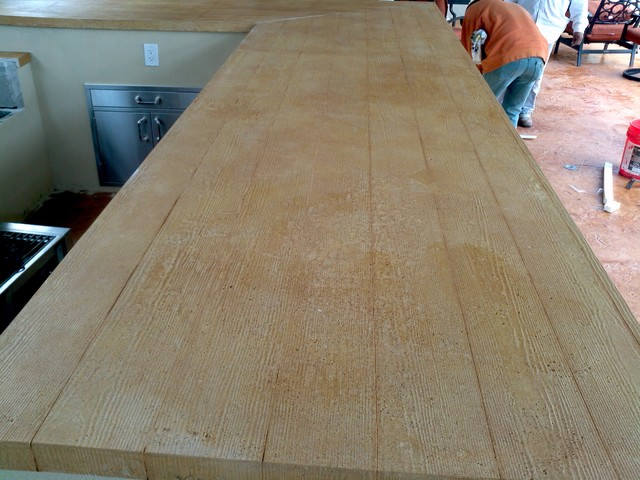 Concrete Counter Tops rustic