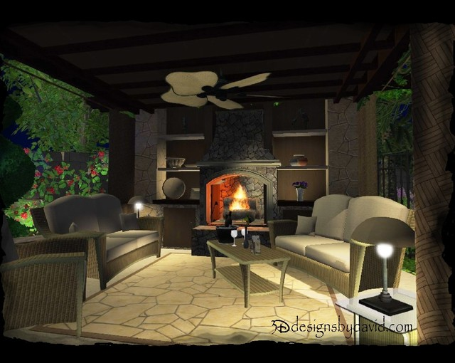 3D Virtual Design mediterranean