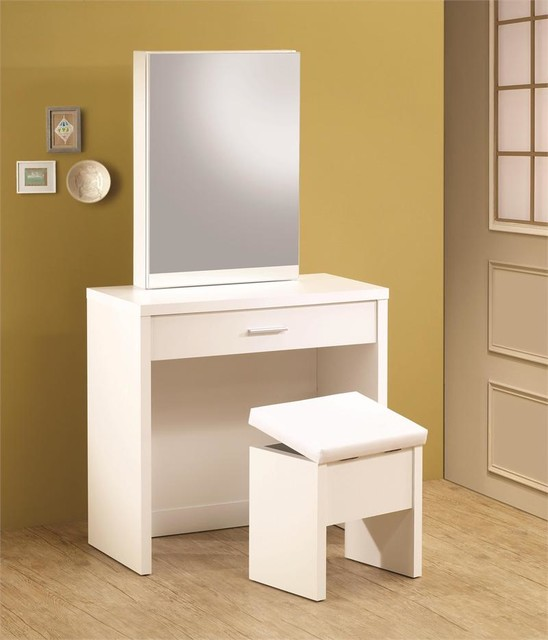 white vanity desk modern bedroom products orange county by