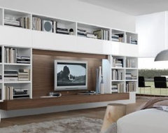 Jesse Open Wall Unit Composition R53 modern-display-and-wall-shelves