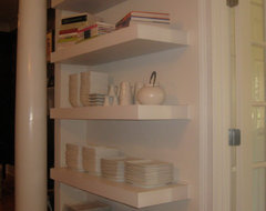 Floating Shelves contemporary accessories and decor