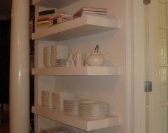 Floating Shelves contemporary-home-decor