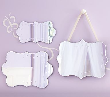 Shaped Mirror Collection | Pottery Barn Kids traditional-kids-mirrors