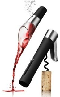 Wineset w/ Waiters Corkcrew and Decanting Pourer modern-home-office-products