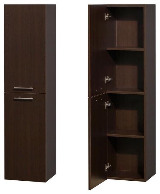 Wyndham Collection Amare Bathroom Wall Cabinet Wc Ryv205 Esp Traditional Bathroom Cabinets