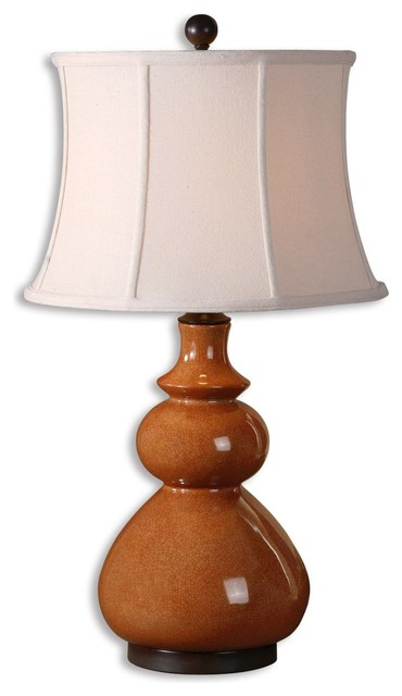 Uttermost Belfast Table Lamp in Chocolate Bronze eclectic-table-lamps