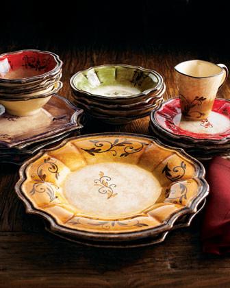 "OperaNova Four ""Forum"" Salad Plates traditional-plates"
