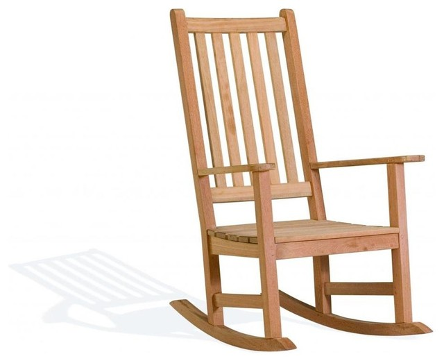 Franklin Rocking Chair contemporary-outdoor-rocking-chairs