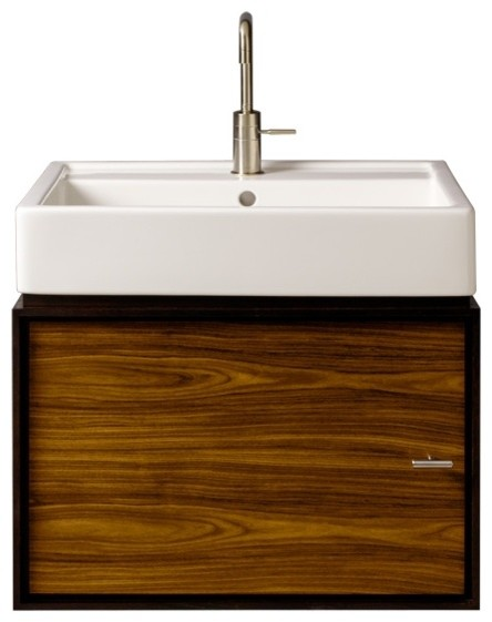 """Porcher Solutions™ 24"""" Wall Hung Cabinet contemporary-bathroom-storage"""