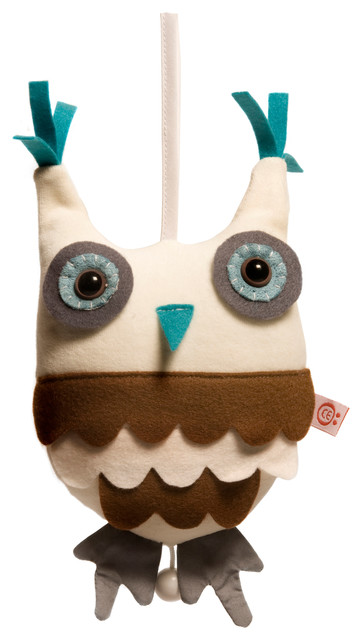 Hendrik Owl Blue Music Box contemporary-kids-toys-and-games