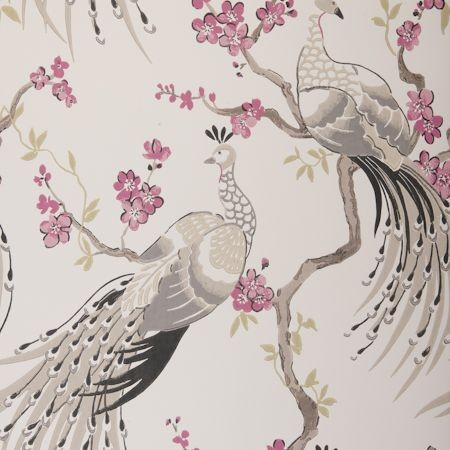 Indira Wallpaper by Clarke & Clarke eclectic wallpaper