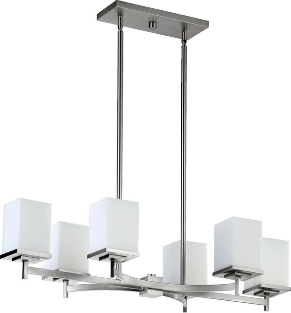 Quorum Lighting QR-6584-6-65 Delta Modern / Contemporary