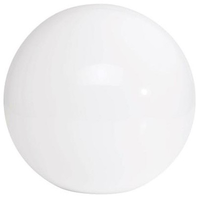 12 in. Diameter Acrylic Replacement Globe - contemporary - outdoor