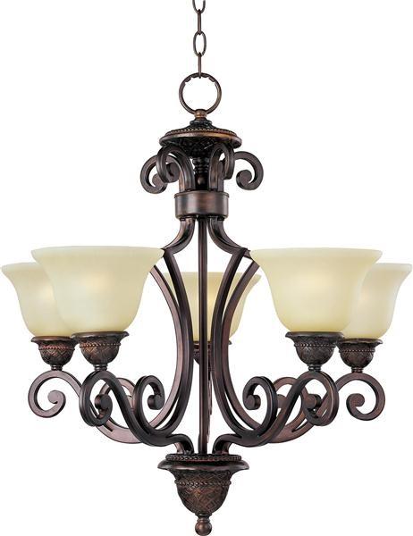 Symphony 5-Light Chandelier modern-chandeliers