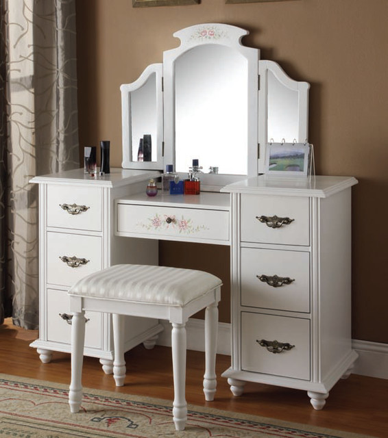 Bedrooms Furniture Traditional Makeup Mirrors New