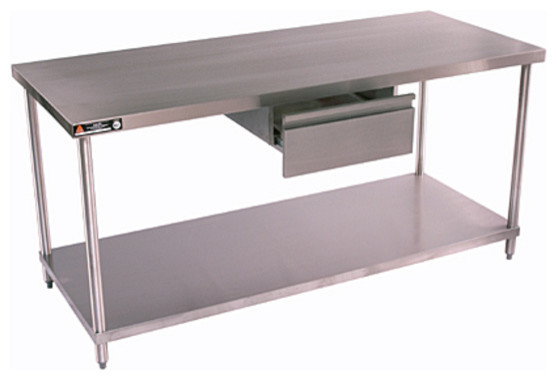 Stainless Work Tables by Aero - contemporary - kitchen islands and