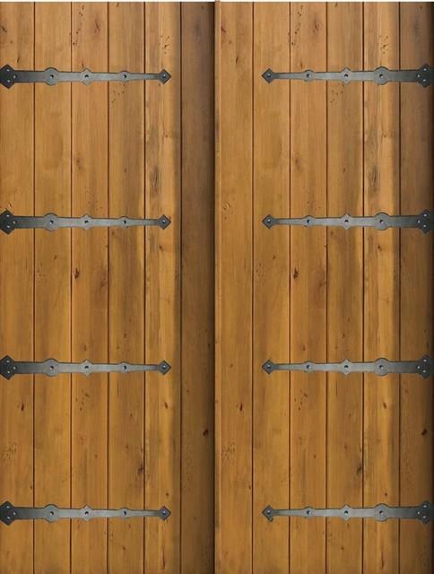 slab home double door 80 96 knotty alder rustic plank