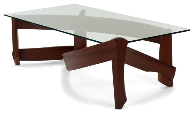Sweeping Cocktail Table modern-coffee-tables