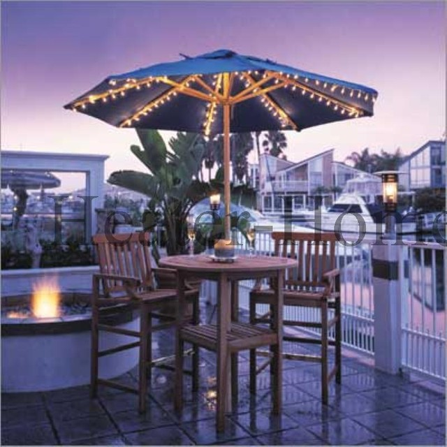 dayva harbor patio umbrella lights with multi cord