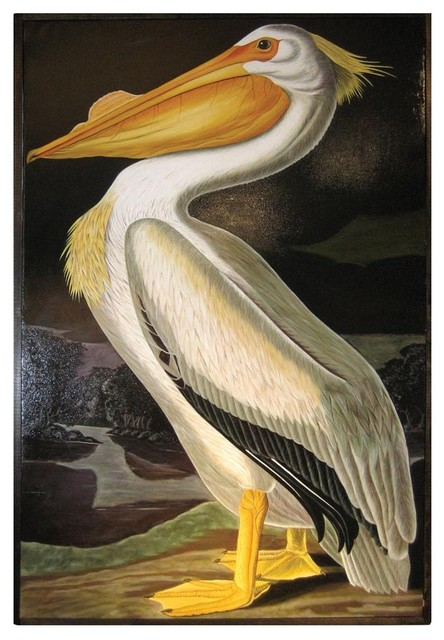 Oly Studio Pelican Painting eclectic-artwork