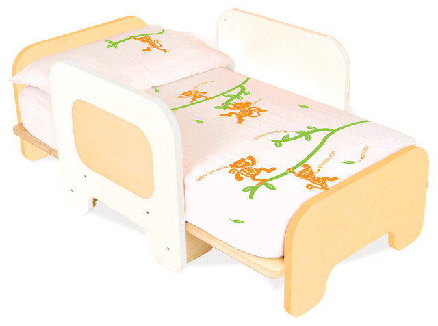 Pkolino Toddler Bed - White - modern - kids beds - by Design Public