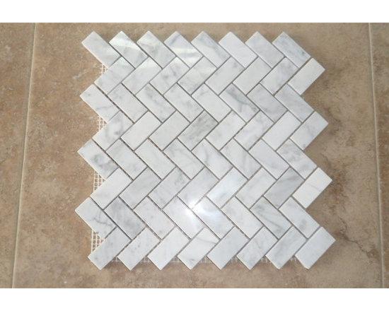 Stone Mosaic, Marble Mosaic - bianco carrara stone mosaic, marble mosaic ,stone tile ,stone pattern, marble tile, marble pattern  www.linlinstone.com