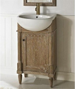Luxury Fairmont Rustic Chic 48quot Vanity  Modern  Bathroom  Milwaukee  By