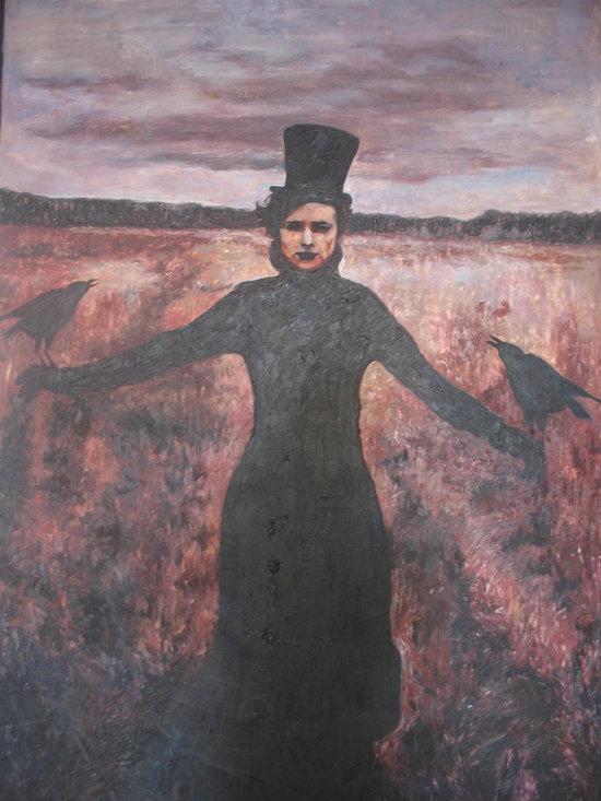 Art - Girl With Birds