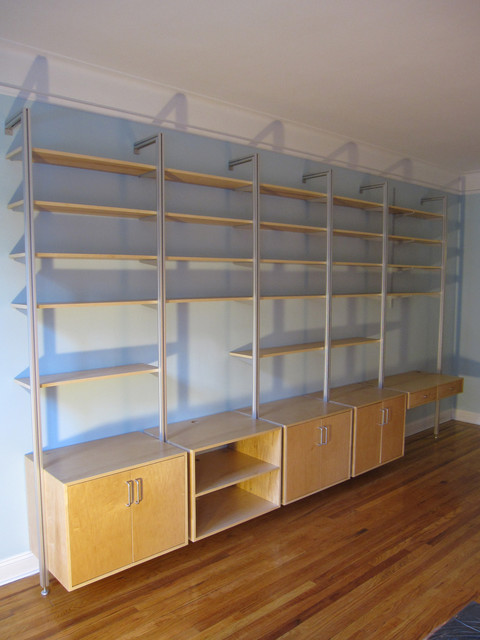 Custom Shelving contemporary