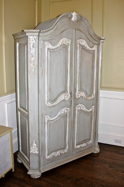 Armoire Makeover - Traditional - Armoires And Wardrobes - atlanta - by ...