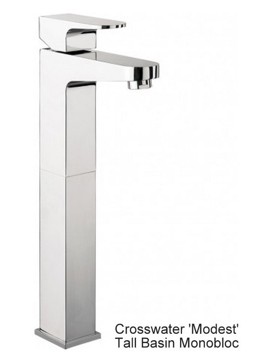Crosswater Modest Tall Basin Mixer Tap - Have a browse of our website: