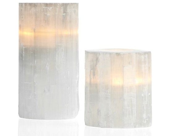 Selenite Votive -