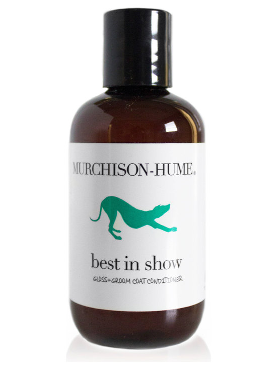 Murchison-Hume - Murchison-Hume  Best In Show Gloss + Groom Coat Conditioner - Gloss + Groom Coat Conditioner: A 100% natural grooming & detangling aid that also soothes itchy skin Leaves a shiny, pest-repelling sheen.
