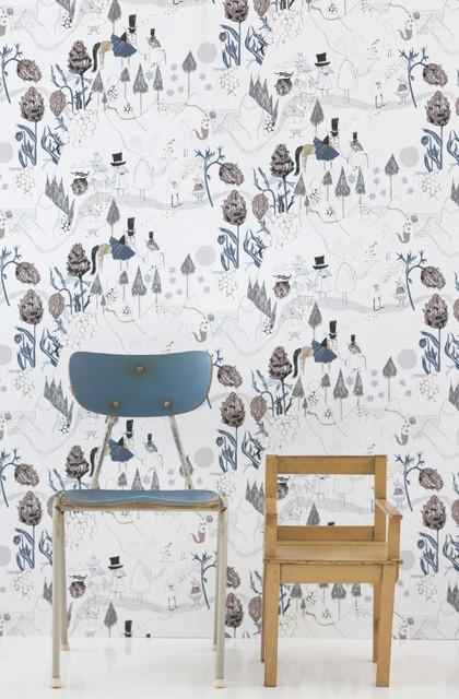 modern wallpaper kids