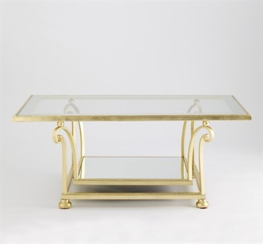 Desmond Coffee Table by Jan Showers eclectic-coffee-tables