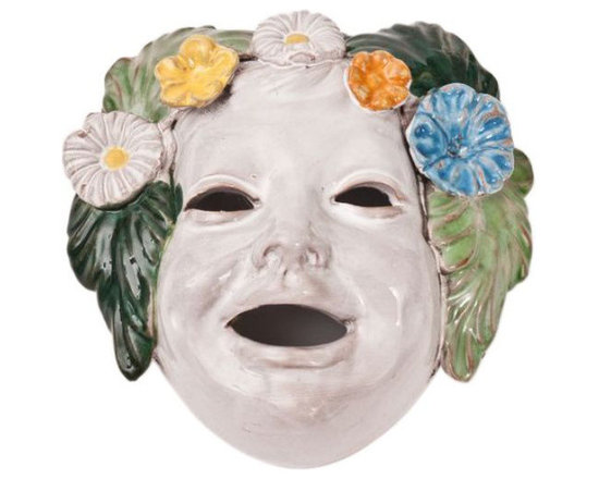 SOLD OUT!  Biordi Decorative Porcelain Face - $129 Est. Retail - $49 on Chairish -