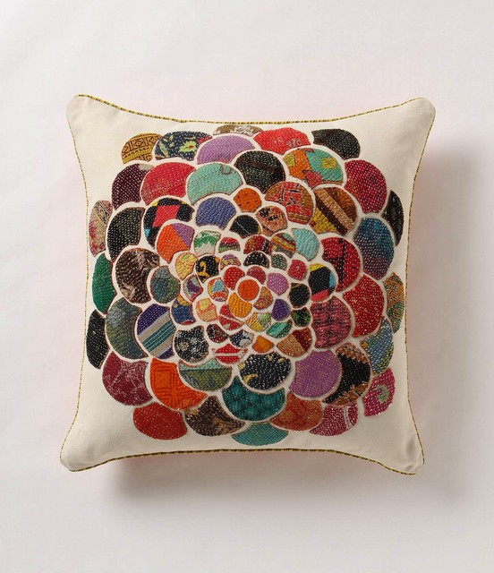 Orimono Flower Pillow asian pillows