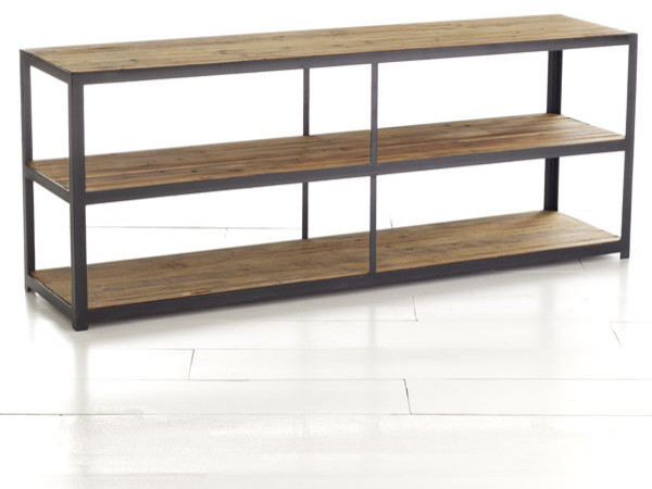 Rustic Iron Console modern-side-tables-and-end-tables
