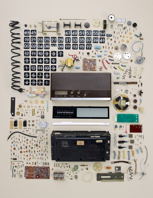Old Flip Clock, by Todd McLellan eclectic artwork