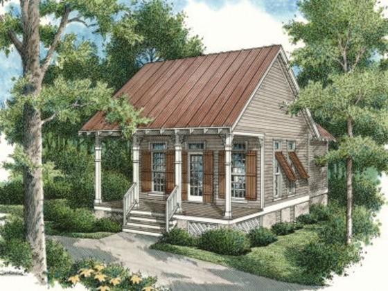 House Plan 45-334 rendering