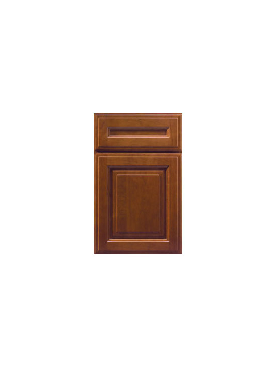 Cherry Door Styles from Wellborn Cabinet, Inc. - Madison Cherry will complement your cosmopolitan style with its traditional features that fit well in warm finishes and lush textures. Shown here with our 5-piece Classic Drawer Front.
