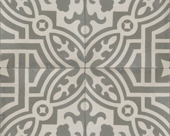 "In Stock Cement Tile - ""Fountaine Antique"" cement tile from Cement Tile Shop."