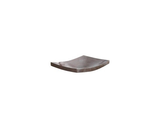"Kohani in Antique - Kohani in Antique for Sale at Kitchen Cabinet Kings - Kohani in Antique specs: 16 gauge hammered copper, 1.5 In. drain. IAPMO listed/ cUPC certified. Post-consumer recycled copper. Width: 20"" Height	: 4"" Depth: 15"" Finish: Antique Copper"