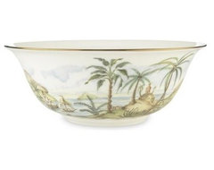 Youll dine in island style when you bring the Lenox British Colonial Serving Bo modern serveware