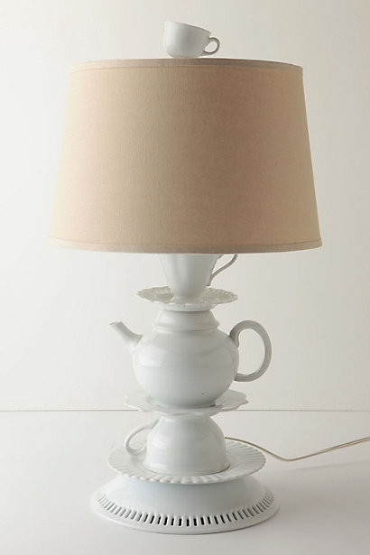 One-Lump-Or-Two Base eclectic table lamps