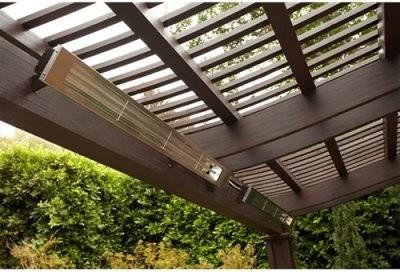 Slim Line Infratech 42.5 Single Element 2400 Watt Quartz Heater modern-outdoor-products