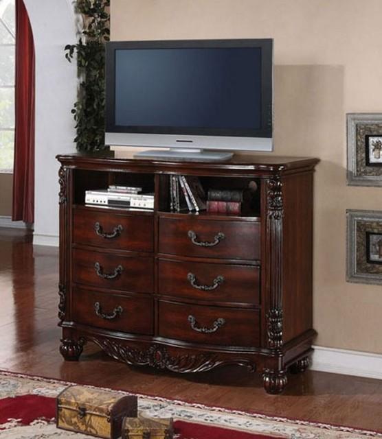Ashley Furniture Warehouse Salt Lake City: Jacob Traditional Dark Cherry Wood