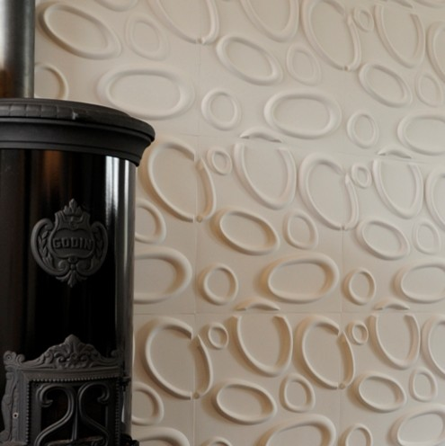 dimensional wall decor Modern Wallpaper vancouver